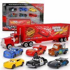 Kids 7pcs Pixar Car Toy Set No95 Mack McQueen Truck Racer's Cars Toys Model Gift