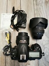 Nikon D300s dSLR Camera - Black (kit w/NIKKOR 35mm 1.8G & Tokina 12-24mm lenses)