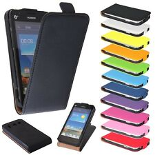 HTC Desire 300 negro Funda Con Tapa Funda Móvil Protección Cubierta Estuche