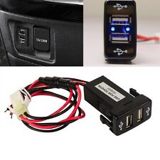 Dual USB Port Phone Charger Radio Pad For Toyota Fortuner Hilux Tacoma 2005-2011