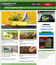 Gardening Guide Website Business For Sale Work From Home Internet Business