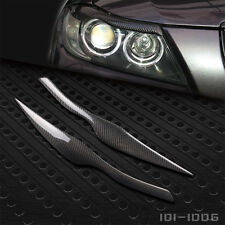 Real Carbon Fiber Headlight Eye Line Garnish For BMW 3 Series E90 2009~2012