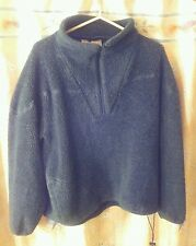 Woolrich Vintage, Polar Fleece, Hunter Green, 1/4 zip Turtle neck. HEAVY USA XL