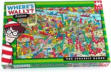 Where's Wally Junior Jigsaw Puzzle The Jurassic Game 100 pieces