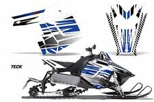 AMR Racing Sled Wrap Polaris Switchback Snowmobile Graphic Kit 11-14 TECK BLUE