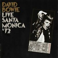 DAVID BOWIE live santa monica '72 (CD, album) very good condition, Glam Rock,