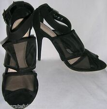 TOPSHOP RAZZLE MESH PANEL SHOES UK SIZE 6 EUR 39 US SIZE 8 RARE