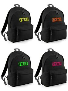 Kids Youth or Adult Five Nights at Freddies FNAF inspired Backpack or Gymbag