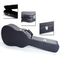 "39"" Heavy Duty Classical Guitar Hard Case Box Microgroove Flat Black"