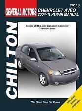 Chevrolet Aveo, 2004-2011 [Chilton Automotive]