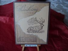 THINKING OF YOU  HANDMADE MASCULINE GREETING CARD #42 STAMPINUP AND MORE