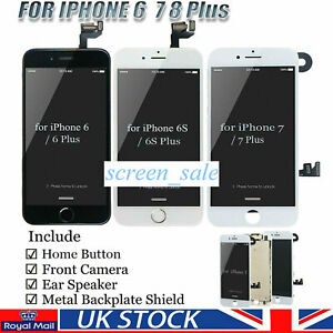 For iPhone 6 6S 7 8 Plus LCD Screen 3D Touch Digitizer Full Assembly Replacement
