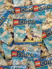 NEW~Lot of 6~Lego Chima~Ewar's Acro-Fighter~33 pcs~MINIFIGURES~30250~Party Favor