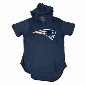 Cam Newton New England Patriots Shirt Mens Large Blue Majestic Threads NFL Adult