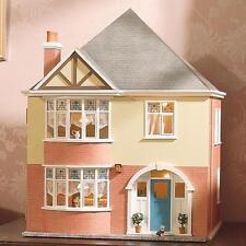 Kit maison de poupées Mountfield par maison de poupées emporium non peinte facile à assembler