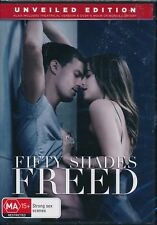 Fifty Shades Freed DVD Unveiled Edition NEW Region 2 and 4 Dakota Johnson