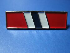 POLICE ADVANCED CERTIFICATION PIN METAL WITH THREE COLOR ENAMEL GOLD TRIM