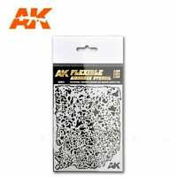 AK Interactive - Flexible Airbrush Stencils (Choose Your Variants)