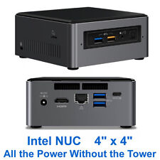 Intel NUC-based mini PC 7th-Gen Core i3 120GB SSD 4GB DDR4 HDMI AC/N WiFi BT 4