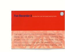 Fun Recorder 2 - includes the music and great backing tracks / CD inclus - Flûte