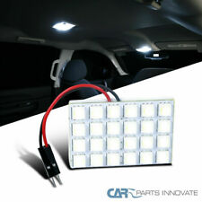 1x 24-Smd High Power White T10 Led Panel Car Interior Dome Light Lamp(Fits: Neon)