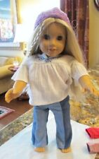 """American Girl Julie Albright 18"""" Doll Historic with Extra Outfits & Accessories"""