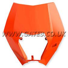 Genuino KTM 400EXC Exc 400 2008-2011 Linterna y lámpara envolvente de máscara de plástico color naranja
