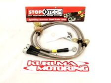 STOPTECH STAINLESS STEEL BRAKE LINES - REAR PAIR 950.33515