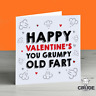 Funny Valentines Day Card For Her Him Boyfriend Girlfriend Husband Wife Love Old