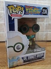 New POP Vinyl Loot Crate Exclusive Doc Emmett Brown 236 Back to the Future mcfly