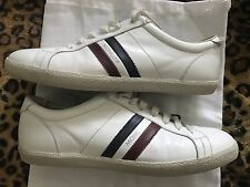 Aut Moncler Monaco Shoes White 45  $375 Made In Italy