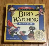 The Great North American Bird Watching Trivia Game Outset Media 2004 NEW! (Read)