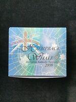 2008 Australian Antarctic Territory $1 HUMPBACK WHALE 1oz Silver Proof Coin