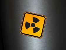 1 x adhesivo cárnica 001 radiactivo Radioactive Biohazard sticker Shocker
