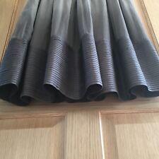 Zara Ladies 100% Silk Dress Grey Ombré Party Wedding Floaty Size Small 8 10