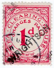 (I.B) George V Revenue : Tea Clearing House 1d