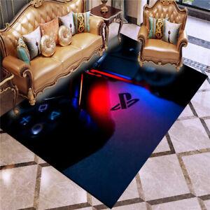 Dualshock 4 Controller Game Room Decor Living Room Carpets Doormat FloorMats Rug