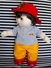 Firefighter Outfit for My Child Doll