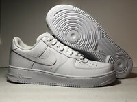 NEW Nike Air Force 1 '07 Triple White 315115-112 Women's Size 11 US New