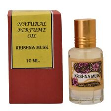 Natural perfume Oil Krishna Musk Free From Alcohol 10ml- Free Shipping