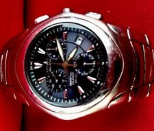 Citizen Eco Drive World Time Perpetual Calendar Stainless Steel Watch $399.99ret