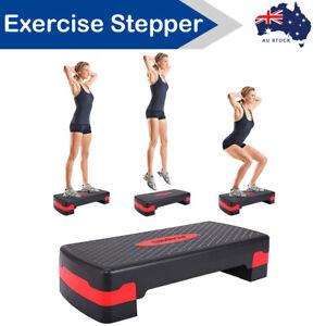 Aerobic Exercise Step Stepper Riser Workout Cardio Fitness Bench Block Platform