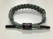 RASTACLAT Men's Bracelet Grey Black Knit Wrist Fashion Authentic Bracelet