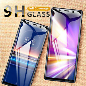 Full Cover Tempered Glass For Sony Xperia L4 10 ii 10 Plus Screen Protector 5 ii