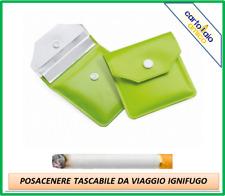 posacenere portacenere porta cenere tascabile da viaggio portatile ignifugo