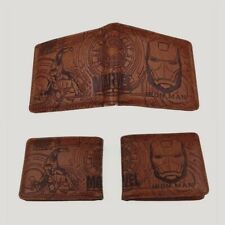 Marvel Iron Man Avengers Wallet Brown Coins Cards Notes