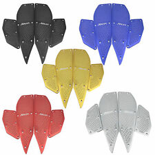 Gold Foot Peg Plate Footrest Pedal Pad Mat For Yamaha XMAX 250 300 2011-2018
