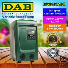 D.A.B. Variable Speed Constant Pressure System  E.SYBOX MINI