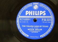 78rpm MITCH MILLER yellow rose of texas / blackberry winter