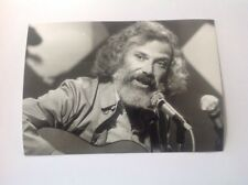 GEORGES MOUSTAKI  - PHOTO DE PRESSE ORIGINALE 13x18cm